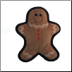 Kyjen Tuff Ones Gingerbread Man (SKU: KY-PP03327)