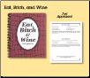 Cookbook - Eat, Bitch & Wine (SKU: ABC-EBW)