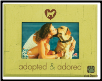 Adopted & Adored Wooden Photo Frame (SKU: DS-3101)