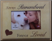 Always Remembered Wooden Photo Frame (SKU: DS-3106)
