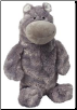 Gray Hippo 2 Liter Bottle Toy