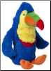 Blue Toucan 2 Liter Bottle Toy