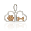 Pets Close 2 Your Heart - Sterling Silver Pet Lover Jewelry