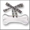 Dogbone Ceramic Ornament for Dog Lover (SKU: AC-2018G)