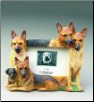 German Shepherd Photo Frame (SKU: DBBreed-GermanShepherdFrame)