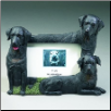 Black Labrador Photo Frame (SKU: DBBreed-BlackLabFrame)