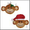 Zanies Holiday Monkey Business Squeaker Balls