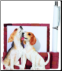 Beagle Pet Note Holder (SKU: DBBreed-BeagleNotepad)