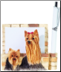 Yorkie Pet Note Holder (SKU: DBBreed-YorkiePetnotes)