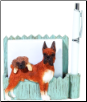 Brindle Boxer Pet Note Holder (SKU: DBBreed-BrindleBoxerNotepad)