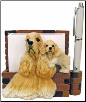 Buff Cocker Spaniel Pet Note Holder (SKU: DBBreed-BuffCockerSpanielNotepads)