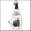 Wine Bottle Cheese Server - A Taste of Purrfection (SKU: Epic-75-228)