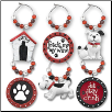 Wine Glass Charms - A Doggy Charm My Glass