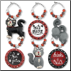 Wine Glass Charms - A Kitty Charm My Glass