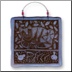 Cat Purrfect Ceramic Wall Plaque for Cat Lover (SKU: AC-8404A)