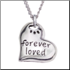 Forever Loved - Sterling Silver Necklace (SKU: RD-8009)