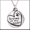 Forever in my Heart - Sterling Silver Necklace (SKU: RD-8030)