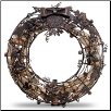 Cork Cage - Wreath