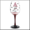 Wine Glass - Sit, Stay, Drink!