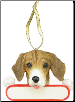 Beagle Holiday Personalized Ornament (SKU: DBORN-BeaglePers)