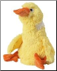 Doggles Bottle Critters - Plush Yellow Duck Dog Toy