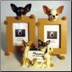 Photo Frame & Magnet Frame Set - Chihuahua (SKU: db-ChiFF)