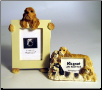 Photo Frame & Magnet Frame Set - Cocker Spaniel (SKU: DB-SpanielFF)