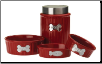 Class Act Woof Chianti Dog Treat Jar & Bowls - Petrageous Designs (SKU: PD-Chianti)