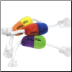 Chill Pill Plush Dog Toys by Loopies (SKU: DBTOY-Chill)