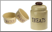 Country Dog Treat Jar & Bowls - Petrageous Designs