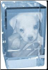 Personalized Photo Crystal Cube - Small