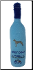 Grey Dogs Vodka Plush Dog Toy by Dog Diggin Designs