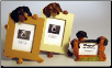 Photo Frame & Magnet Frame Set - Dachshund (SKU: db-DachFF)
