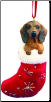 Dachshund Holiday Ornament (SKU: DBORN-Dachshund)