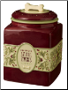 Deck the Halls Dog Treat Jar & Bowls - Grasslands Road (SKU: GL-DecktheHallsDog)