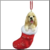 Cocker Spaniel Holiday Ornament (SKU: DBORN-CockerSpan)