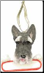 Schnauzer Holiday Personalized Ornament (SKU: DBORN-SchPers)