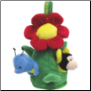 Plush Interactive Flower Friends Dog Toy by Fou Fou Dog