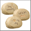 Dog Message Rocks (SKU: GL-469155)