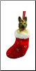 German Shepherd Holiday Ornament (SKU: DBORN-GermanShep)