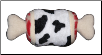 Meat Lovers Cow ThighBone  Dog Plush Toy by Hip Doggie (SKU: DBTOY-HDCowThigh)