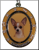 Chihuahua, Tan - Dog Key Chain by E&S Imports (SKU: ES-KC10)