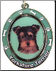 Yorkie Puppy Dog Key Chain by E&S Imports