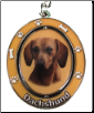 Dachshund, Red - Dog Key Chain by E&S Imports (SKU: ES-KC13)