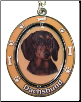 Dachshund, Black - Dog Key Chain by E&S Imports (SKU: ES-KC14)