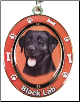 Labrador, Black - Dog Key Chain by E&S Imports