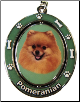Pomeranian Dog Key Chain by E&S Imports (SKU: ES-KC27)