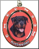 Rottweiler Dog Key Chain by E&S Imports (SKU: ES-KC33)