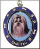 Shih Tzu, Black and White, Dog Key Chain by E&S Imports