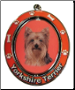 Yorkie Dog Key Chain by E&S Imports